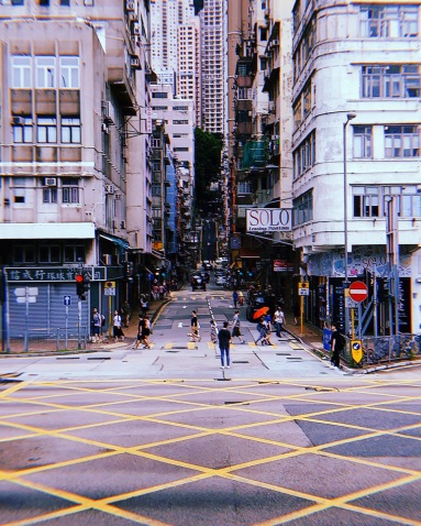 street aesthetic in hongkong